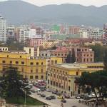 Tirana city view