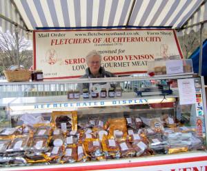 Venison stall - Edinburgh