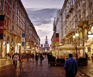 Traveling around Milan, Italy