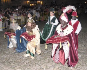 A traditional Christmas in Spain