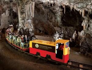 Postojna Cave, the most popular attraction in Slovenia
