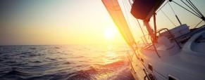 The adventure of luxury racing yacht