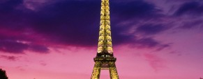 Will the Eiffel tower be blue or pink now?