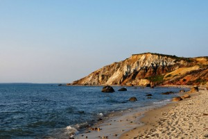 Gay Head Cliffs - Moshup Public Beach - Martha's Vineyard  - Boston - USA.